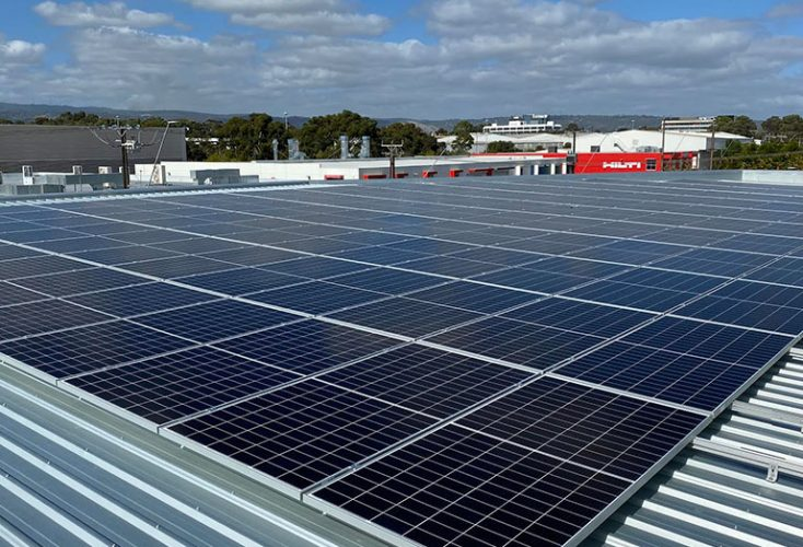 First Choice Solar Adelaide - City Holden - Mile End - Solar Installation